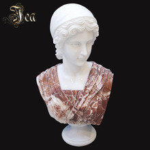 Exquisite craftsmanship marble lady bust sculpture statue