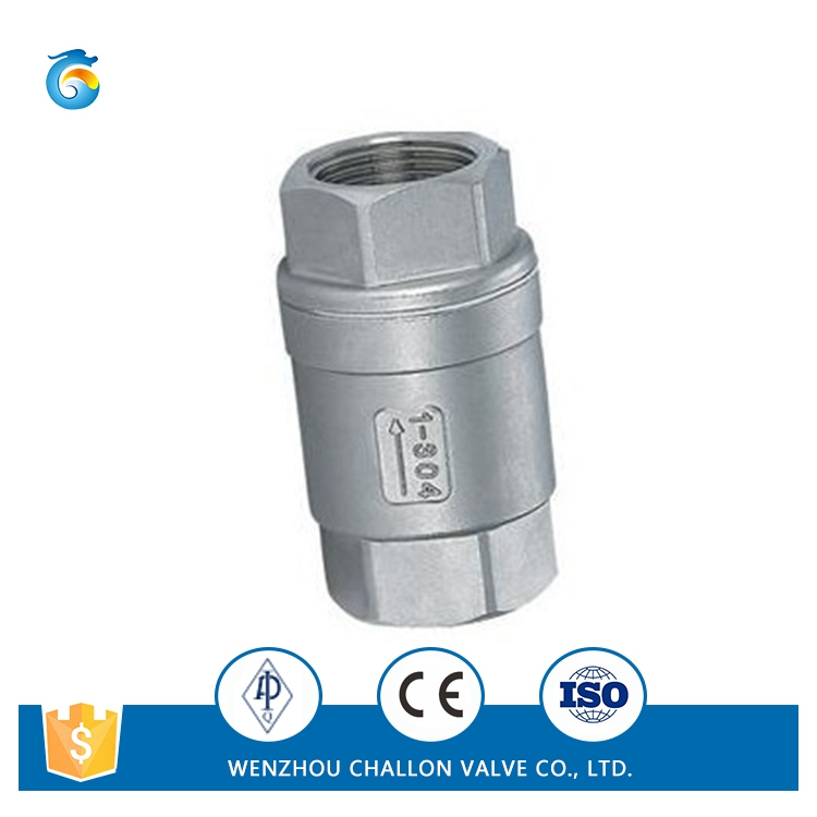 CC204-T vertical screw check valve price