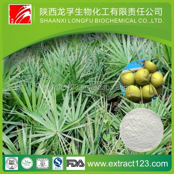 Serenoa Repens/100% natural saw palmetto extract./saw palmetto extract fatty acids / high quality saw palmetto extract