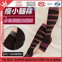Japanese fashion five paragraphs pressure massage calf socks stovepipe socks sleeping socks W82