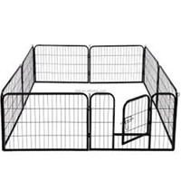 Pet Puppy Dog Playpen Exercise Pen Kennel