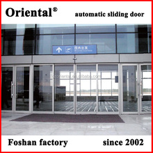 Made in China professional powder coated bullet proof aluminum security sliding door