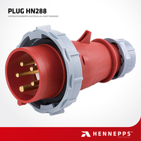 HENNEPPS China IP67 400V 16A 6h AC Electrical Plug Global Industrial universal Flameproof AC Plug and Connector