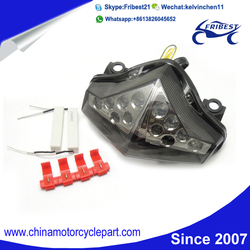 FTLKA007 Motorcycle Intergrated LED Tail Light with Turn Signals For KAWASAKI ER6N 2012 2013