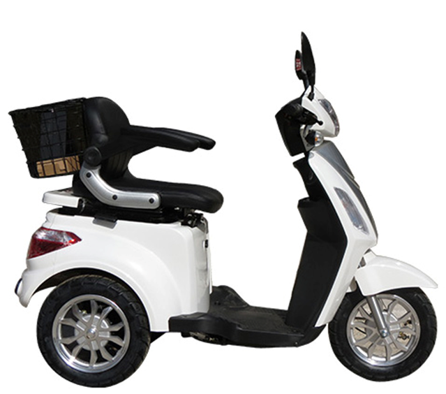 EEC Approved 800w Electric Motor Scooter with 20Ah Silicone Battery