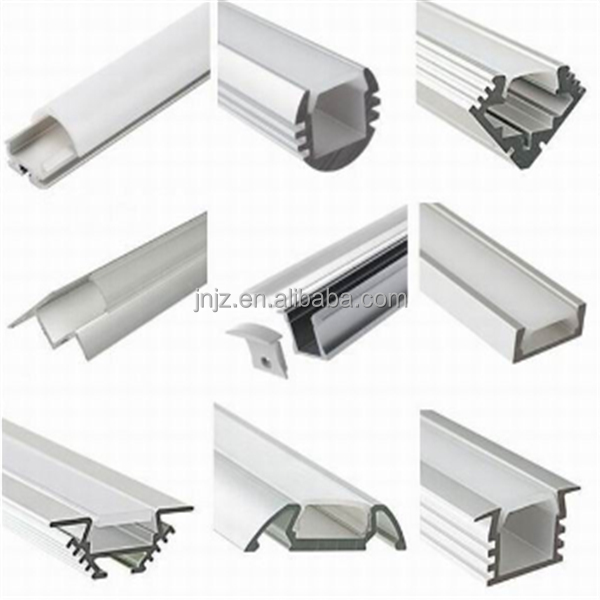 china new product 6063 t5 aluminium for light channel