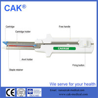Disposable linear cutter stapler with surgical