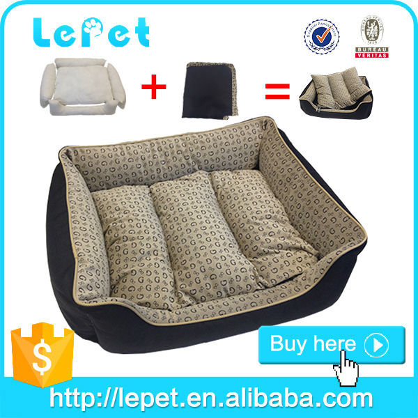 heating plush removable cover dog sofa bed soft house for pets
