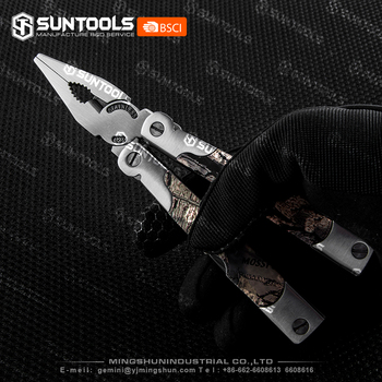 Free Sample High Quality Stainless Steel Camo -coating Multi pliers