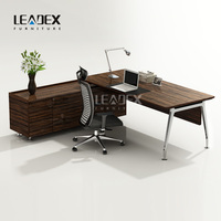 Wholesale Price L-Shaped Office Desks Modern Manager Office Table Design