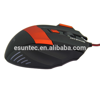 OEM for computer gamer 7D wired optical Mouse Gamer Computer Accessory gaming mouses GM-007