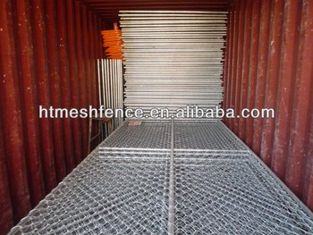Temporary chain link Construction Fence Panels /mobile chain mesh fencing panel