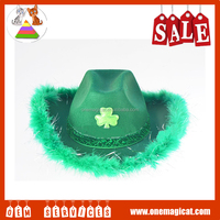Saint Patrick's Day green hats Unique hats Clover hats decorations