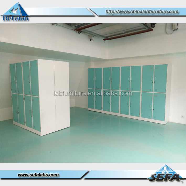 Laboratory Furniture Steel Wardrobe Cabinet Laboratory