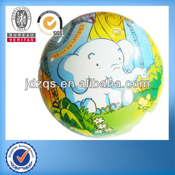 360 degree full printing colorful toy play pvc ball