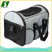 2014 New design leather carrier bag for dog