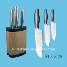 K1036-A1-A3 Promotion custom supply japan knife in knife block