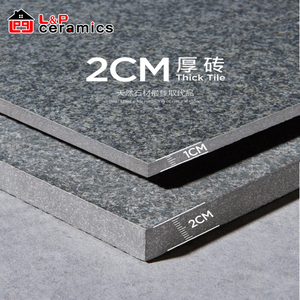2cm thick outdoor ceramic tiles for garden,path,driveway