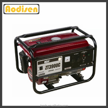 hot sale small type electric power gasoline generator 3000w