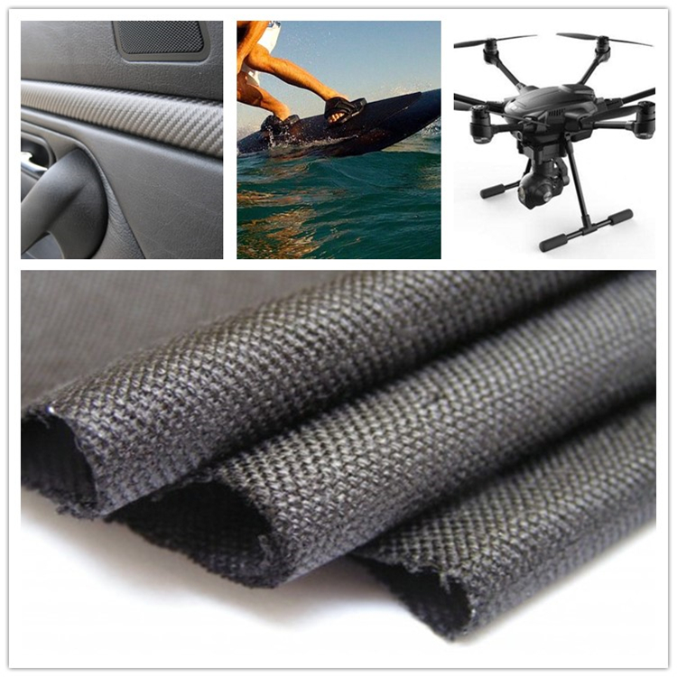 Superior quality fire resistant carbon fiber cloth