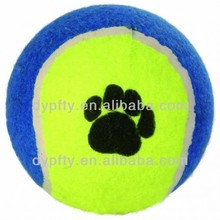 rubber tennis balls toys with squeaker for dogs