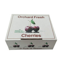 Custom logo printed fresh cherry paper packing box for 1-15kg on sale
