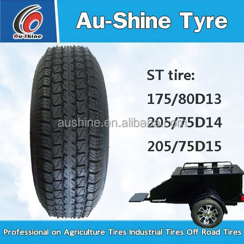Trailer Tires 175/70D13 tires and wheel