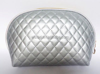 2015 quilting Make Up Modella toiletry promotional fashion elegant cosmetic bag for lady