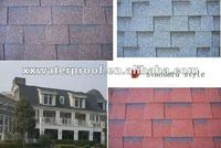 3-tab asphalt roofing shingles with good price