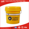 5liter plastic round container,5L plastic bucket with lid and handle