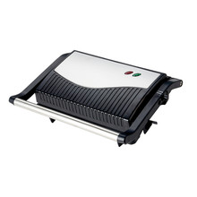 Mini 2-slice Custom Electric Automatic Panini Press / Indoor BBQ Grill