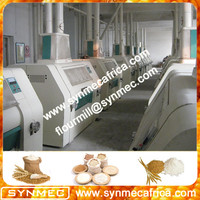 wheat flour mill machine/wheat flour grinder machine price