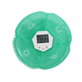 Digital pill reminder Plastic Pill storage medicine reminder pill box timer