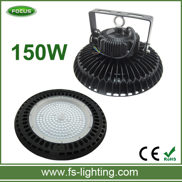 5 years warranty IP65 Energy saving UFO industrial 150w led high bay light new hot wholesale led 150 watts high bay lamps