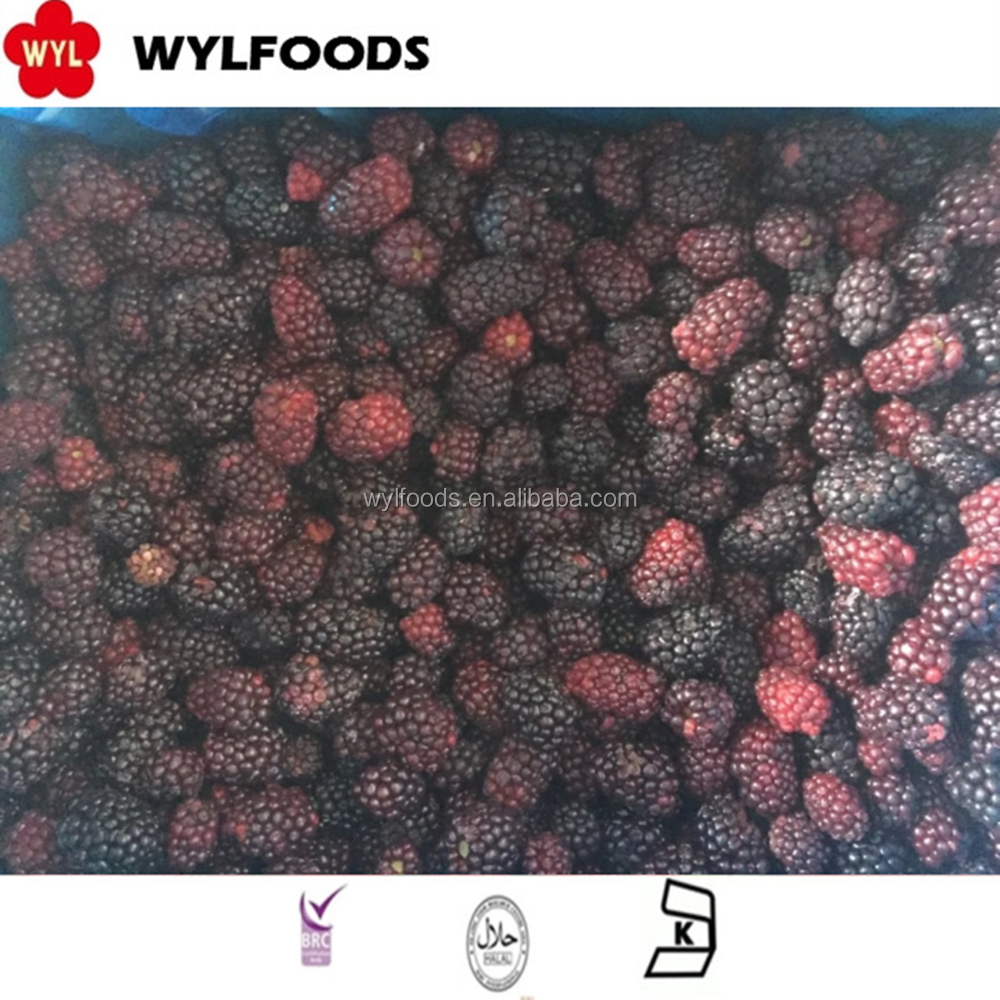 Frozen Iqf Whole Blackberry