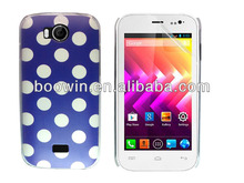 for wiko iggy high quality blue polka crystal case factory price