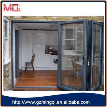 Aluminium Folding Doors Toilet Bi Folding Door Interior Temporary Folding Door View Bifolding