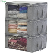 Factory price collapsible organizer foldable non-woven fabric storage box