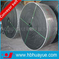 Solid woven heat resistant conveyor belt