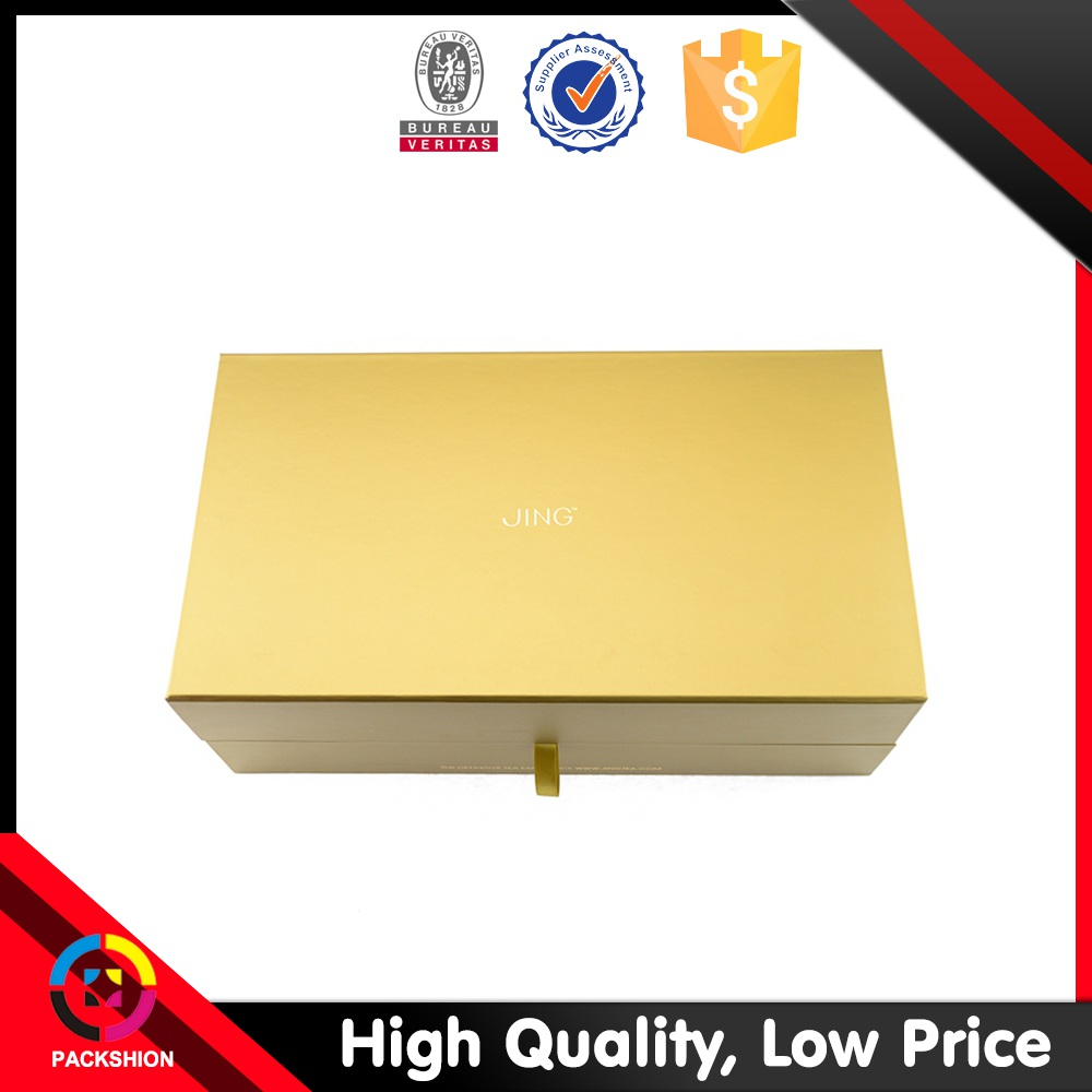 Premium book shaped cardboard custom box packaging