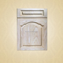 White Plainting Solid Wood Kitchen Cabinet Doors
