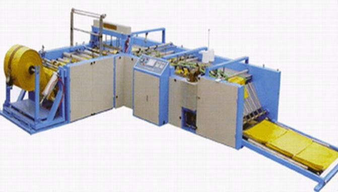 Non oven bag making machine