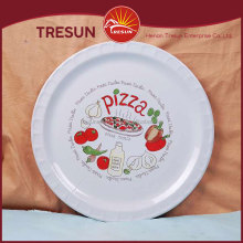 european style pizza plates for home use