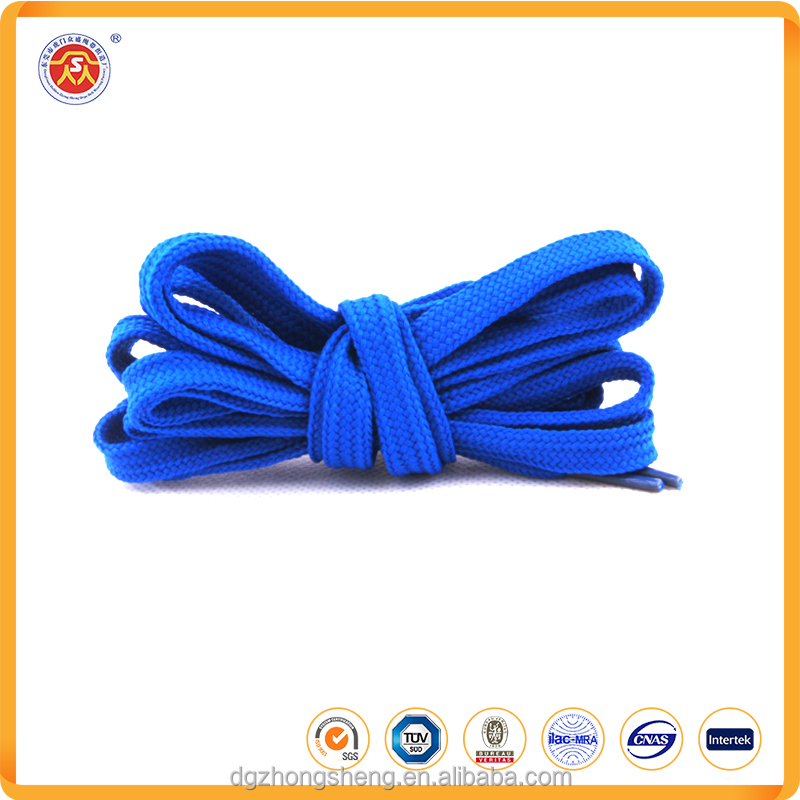 wholesale custom no tie polyester printed elastic flat shoelaces for running shoes
