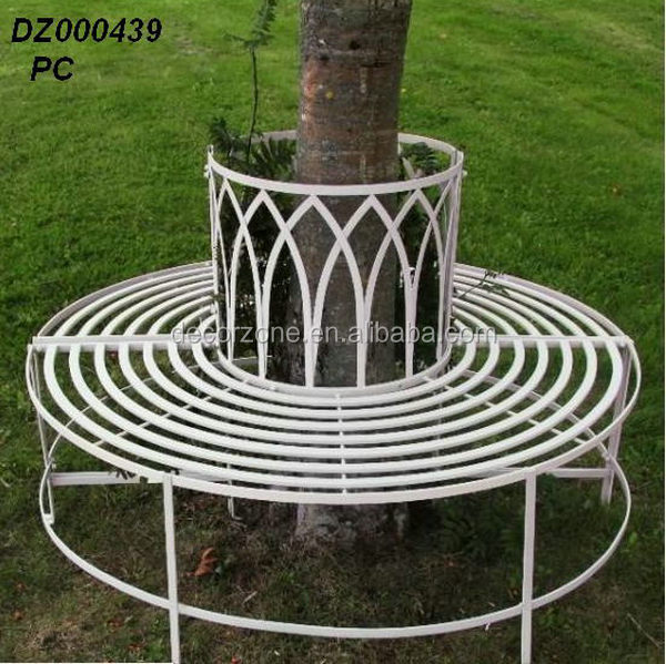 Antique Wrought Iron Round Tree Bench For Park Buy Tree Bench Wrought Iron Round Tree Bench