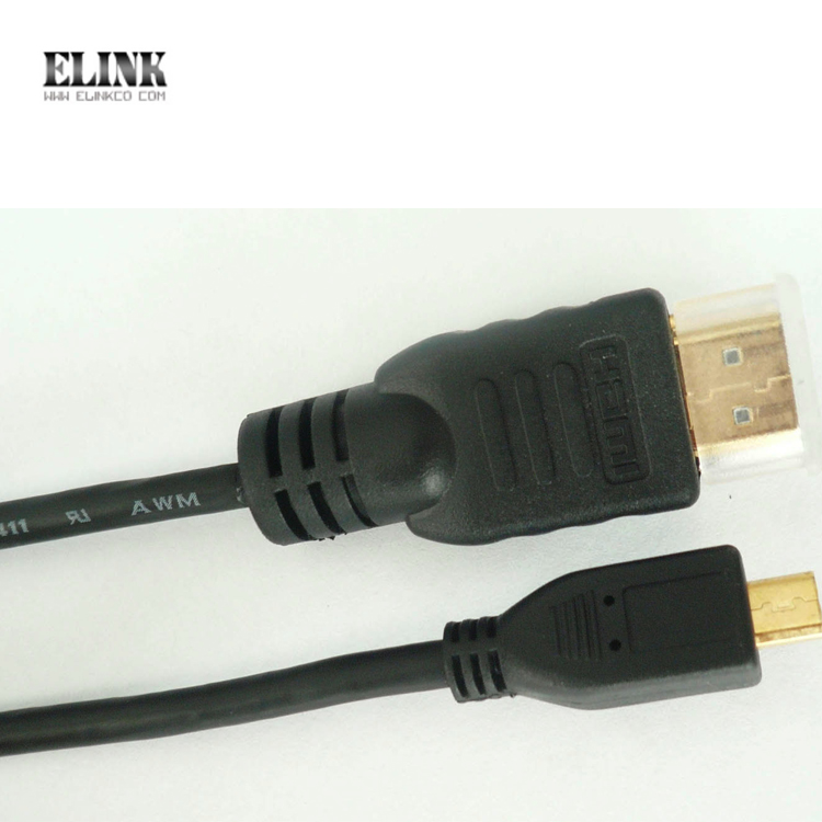 High Speed Micro HDMI to hdmi Cable for Smart Phones