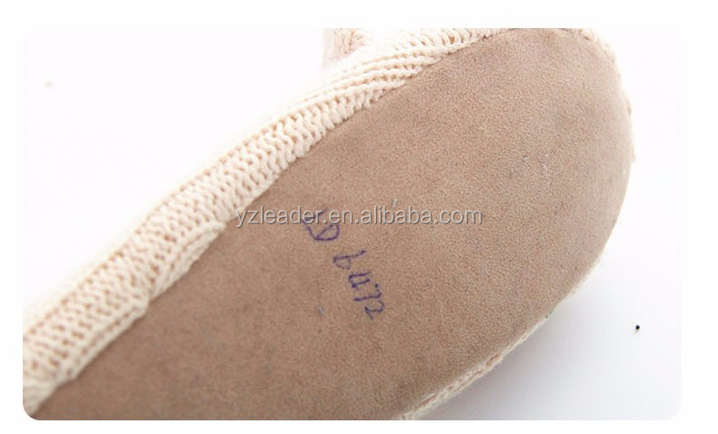 New Funny Women emboridered Animal Knit Indoor Slippers