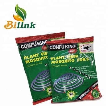 One mental stand 10hours burning plant fiber coils repellent mosquito