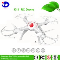 3D flip one key return rc drone helicopter K14 Built-in 6-axis gyroscope quadcopter drone