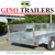 12x6 OEM Fully Welded Tandem cage Trailer 3600x1800